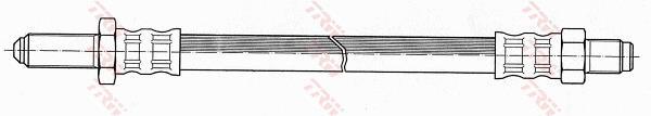 Ilustracja PHC180 TRW przewód hamulcowy elastyczny