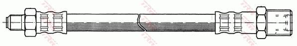 Ilustracja PHC182 TRW przewód hamulcowy elastyczny