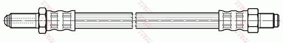 Ilustracja PHC183 TRW przewód hamulcowy elastyczny