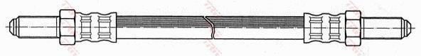Ilustracja PHC184 TRW przewód hamulcowy elastyczny