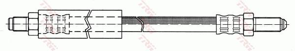 Ilustracja PHC192 TRW przewód hamulcowy elastyczny