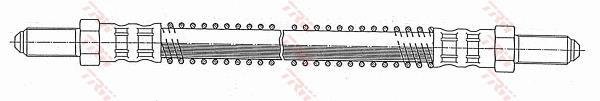 Ilustracja PHC201 TRW przewód hamulcowy elastyczny