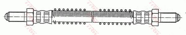 Ilustracja PHC203 TRW przewód hamulcowy elastyczny