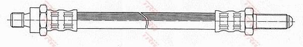Ilustracja PHC209 TRW przewód hamulcowy elastyczny