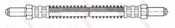 Ilustracja PHC213 TRW przewód hamulcowy elastyczny