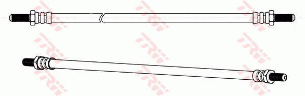Ilustracja PHC218 TRW przewód hamulcowy elastyczny