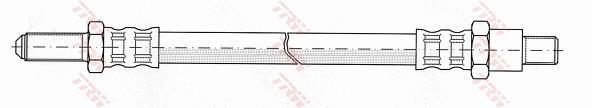 Ilustracja PHC221 TRW przewód hamulcowy elastyczny
