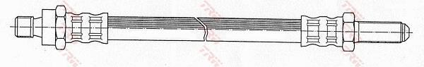 Ilustracja PHC226 TRW przewód hamulcowy elastyczny