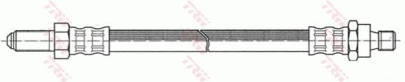 Ilustracja PHC227 TRW przewód hamulcowy elastyczny