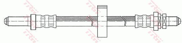 Ilustracja PHC230 TRW przewód hamulcowy elastyczny