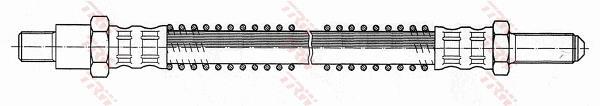 Ilustracja PHC234 TRW przewód hamulcowy elastyczny