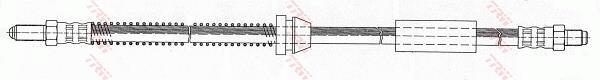 Ilustracja PHC243 TRW przewód hamulcowy elastyczny