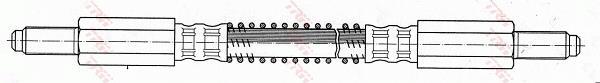 Ilustracja PHC246 TRW przewód hamulcowy elastyczny