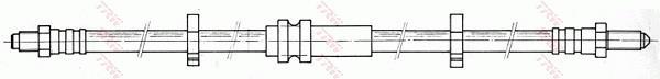 Ilustracja PHC250 TRW przewód hamulcowy elastyczny