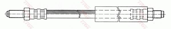Ilustracja PHC252 TRW przewód hamulcowy elastyczny