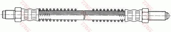 Ilustracja PHC254 TRW przewód hamulcowy elastyczny