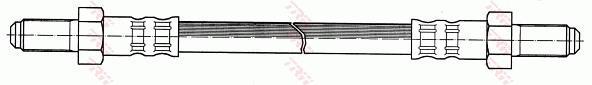 Ilustracja PHC260 TRW przewód hamulcowy elastyczny