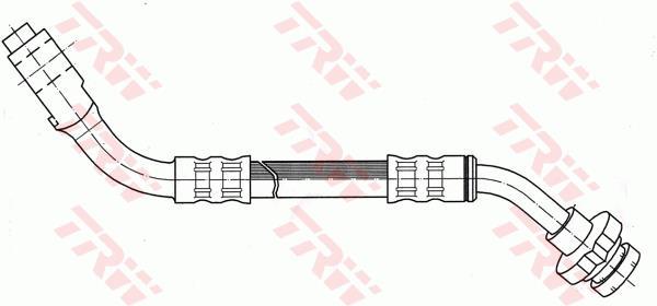 Ilustracja PHC274 TRW przewód hamulcowy elastyczny