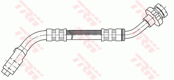 Ilustracja PHC275 TRW przewód hamulcowy elastyczny