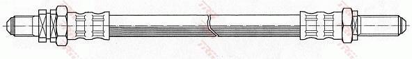 Ilustracja PHC278 TRW przewód hamulcowy elastyczny