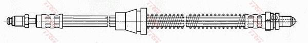 Ilustracja PHC279 TRW przewód hamulcowy elastyczny