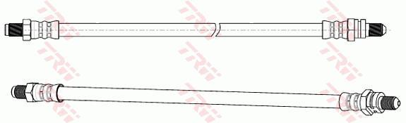 Ilustracja PHC280 TRW przewód hamulcowy elastyczny