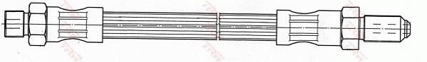 Ilustracja PHC282 TRW przewód sprzęgła