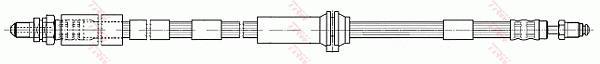 Ilustracja PHC283 TRW przewód hamulcowy elastyczny