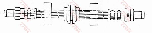 Ilustracja PHC284 TRW przewód hamulcowy elastyczny