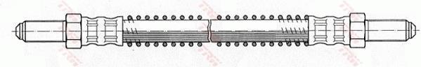 Ilustracja PHC293 TRW przewód hamulcowy elastyczny
