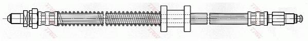 Ilustracja PHC297 TRW przewód hamulcowy elastyczny