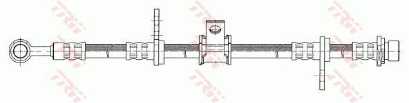 Ilustracja PHD100 TRW przewód hamulcowy elastyczny