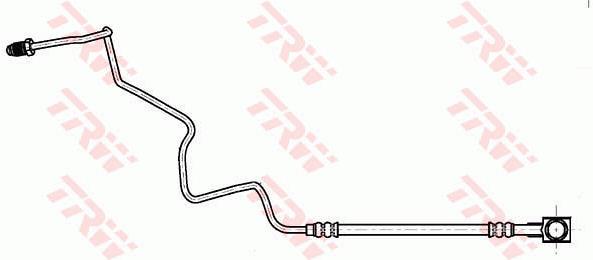 Ilustracja PHD1040 TRW przewód hamulcowy elastyczny