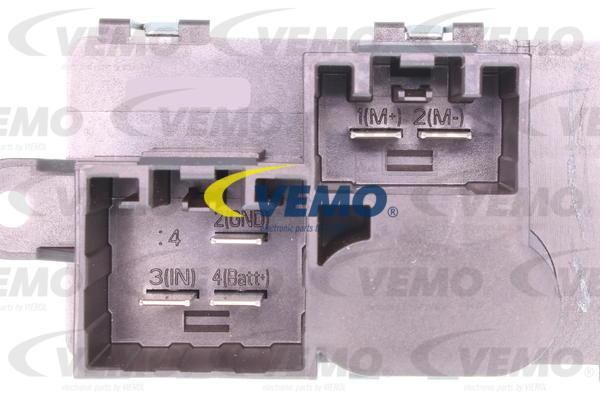 Ilustracja V25-79-0004 VEMO opornik dmuchawy / sterowanie nawiewu