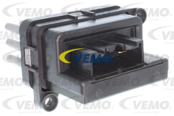 Ilustracja V25-79-0005 VEMO opornik dmuchawy / sterowanie nawiewu