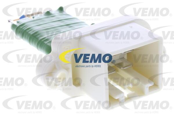 Ilustracja V25-79-0006 VEMO opornik dmuchawy / sterowanie nawiewu