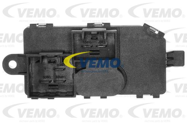 Ilustracja V25-79-0008 VEMO opornik dmuchawy / sterowanie nawiewu