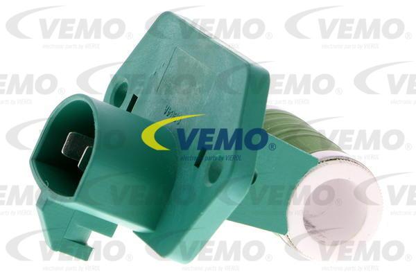 Ilustracja V25-79-0031 VEMO opornik dmuchawy / sterowanie nawiewu