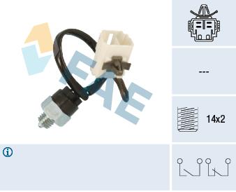 Ilustracja 41280 FAE włącznik świateł cofania