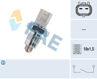 Ilustracja 41302 FAE włącznik świateł cofania