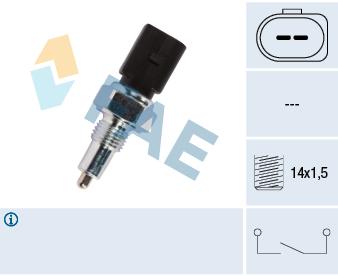 Ilustracja 41303 FAE włącznik świateł cofania