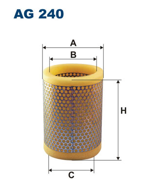 Ilustracja AG 240 FILTRON filtr powietrza