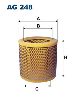 Ilustracja AG 248 FILTRON filtr powietrza