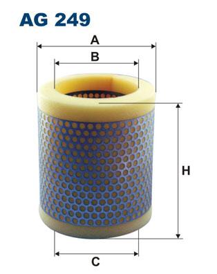 Ilustracja AG 249 FILTRON filtr powietrza