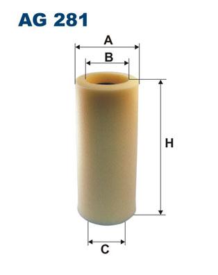 Ilustracja AG 281 FILTRON filtr powietrza