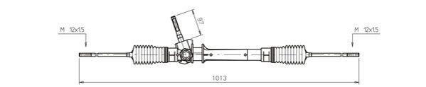 Ilustracja OP4014 GENERAL RICAMBI przekładnia kierownicza