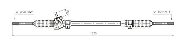 Ilustracja OP4015 GENERAL RICAMBI przekładnia kierownicza