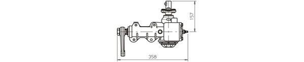 Ilustracja OP4027 GENERAL RICAMBI przekładnia kierownicza