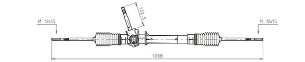 Ilustracja OP4035 GENERAL RICAMBI przekładnia kierownicza